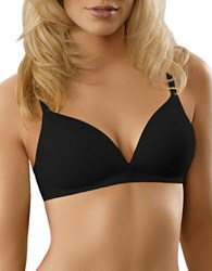 Warner's Elements Of Bliss Lift Wire Free Bra Rich Black