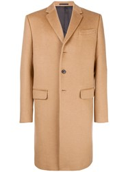 Valentino Tailored Single Breasted Coat Nude And Neutrals