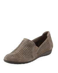 Sesto Meucci Berget Studded Comfort Slip Ons Taupe