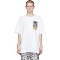 Off White Pascal Painting T Shirt