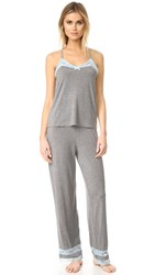 Honeydew Intimates Lazy Sunday Pj Set Heather Grey