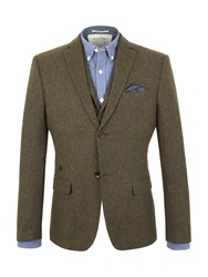 Racing Green Empire Heavy Twill Blazer Green