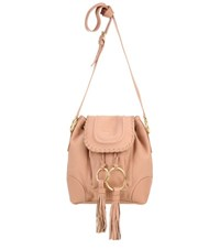 See By Chloe Leather Crossbody Bag Pink