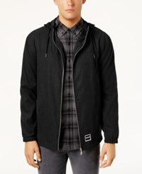Ezekiel Men's Sealand Hooded Jacket Black