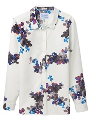 Joules Kingston Shirt Cream Floral