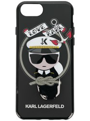 Karl Lagerfeld Sailor Iphone Case Black