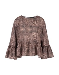 Jolie By Edward Spiers Blouses Brown