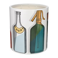 Fornasetti Cocktail Candle Otto Multi