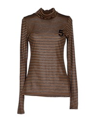 5Preview Topwear T Shirts Women Khaki