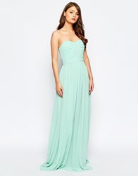 Jarlo Lune Bandeau Maxi Dress Green