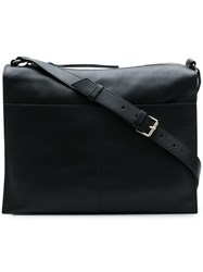 A.P.C. Square Satchel Bag Black