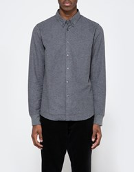 La Panoplie Flannel Shirt Dark Grey