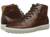 Ecco Soft 7 Premium Boot Whisky Men's Lace Up Boots Brown