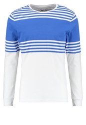 Native Youth Clacton Long Sleeved Top White Blue