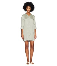 Onia Marie Dress Forest Green
