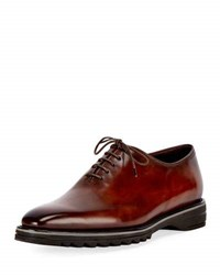 Berluti Alessandro Spada Leather Lace Up Shoe Brown