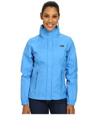 The North Face Resolve Jacket Clear Lake Blue Patriot Blue Women's Coat