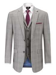 Skopes Cheltenham Classic Suit Jacket Light Grey