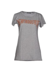 New York Industrie T Shirts Light Grey