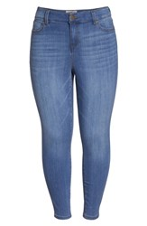 Liverpool Plus Size Women's Jeans Company Penny Ankle Jeans Ridgeway Grind