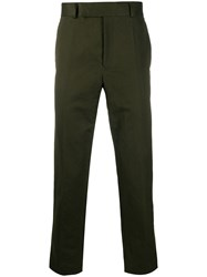 Haider Ackermann Cropped Straight Leg Chinos 60