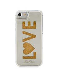 Edie Parker Love Floating Phone Case Gold