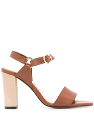 Tila March Whitney Sandals Brown