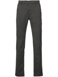 Ag Jeans Marshall Slim Trousers Grey