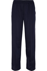 Msgm Jersey Track Pants Navy Usd