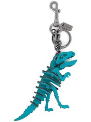 Coach Rexy Keyring Turquoise