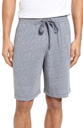 Daniel Buchler Men's Recycled Cotton Blend Lounge Shorts