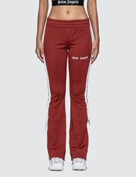 Palm Angels New Skinny Track Pants Red
