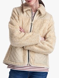 Barbour By Alexachung Hazel Casual Jacket Natural Pearl