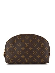 Louis Vuitton Pre Owned Cosmetic Gm Pouch Brown
