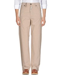 John Galliano Casual Pants Beige