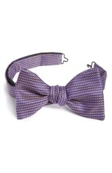 Eton Men's Geometric Silk Bow Tie