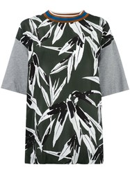 Marni Print T Shirt Green