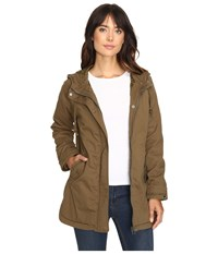 Volcom Good Side Parka Lentil Green Women's Coat Olive