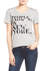 Women's Rebecca Minkoff 'People Know Me' Tee