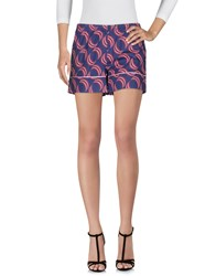 Laura Urbinati Shorts Dark Blue