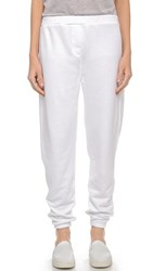 Zoe Karssen Boyfriend Fit Sweatpants Optical White