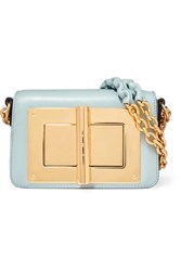 Tom Ford Natalia Small Leather Shoulder Bag Sky Blue