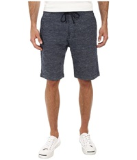 7 For All Mankind Drawstring Melange Shorts Light Wash Melange Men's Shorts Gray