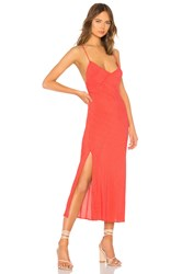 Blue Life Perfect Slip Dress Red