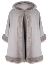 John Lewis Maria Cape Light Grey Marl
