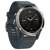 Garmin F Nix 5 Gps Multisport Watch Black Grey Blue