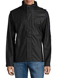 Orlebar Brown Hooded Hi Lo Jacket Carbon