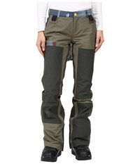 Burton L.A.M.B. X Johnny Pants Dusty Olive Army Green Women's Casual Pants