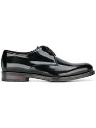 Salvatore Ferragamo Tuxedo Dress Shoes Black