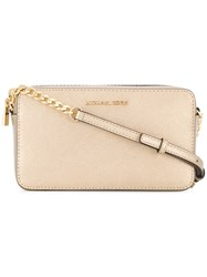 Michael Kors Collection Jet Set Shoulder Bag Metallic